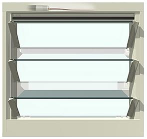 Cửa Breezway Powerlouvre trong hệ cửa Easyscreen